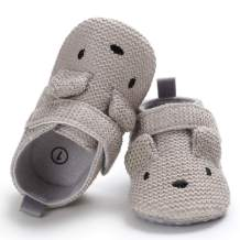 Sawimlgy Newborn Infant Baby Boys Girls Slipper Soft Non Skid Sole Slip On House Animal Sock Shoes Crib Moccasins for New Walkers