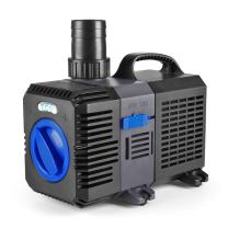 Flexzion Pond Pump Submersible 950/1200/1850 GPH - Flow Inline Aquarium Fountain Waterfall Koi Fish Salt Fresh Water Filter with Set of Outlet Adapter