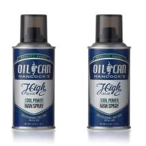 Oil Can Hancock's High Grade Man Spray - COOL POWER - Crisp, Fresh, Masculine and Minty Body Spray for Men - Citrus, Moss and Lavender Fragrance - 4 oz, 118 ml - 2 PACK