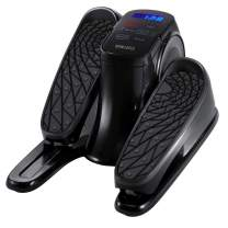 HoMedics StayFit Mini-Stepper - Portable Fitness Machine with Mat and Preset Exercise Programs