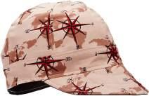 """Lapco Lap 6C-7 3/8 6-Panel Welder's Caps, 100% Cotton, 7 3/8"""", Assorted Colors"""