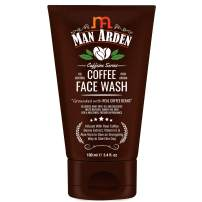 Man Arden Recharge Coffee Face Wash 100ml - Cleanses Away Dirt, Oil and Dullness