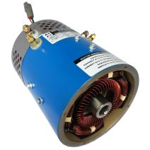 GEM Electric Car Parts - GEM Car Motor for Torque & Speed - 21 mph @ 72V - 20 HP Peak - High Performance & Made In USA with More Copper & Steel thus Less Likely to burn up! (Red Option)