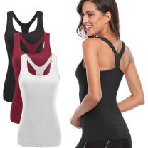 TELALEO Tank Tops for Women, Womens Quick-Drying Workout Tank Tops Clothes for Women Yoga Basic Running 1Pack/2Pack/3Pack