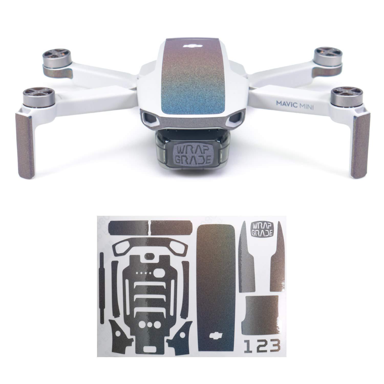 Wrapgrade Skin Compatible with DJI Mavic Mini | Accent Color (Coloration-X)