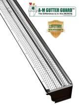 """A-M Aluminum Gutter Guard 6"""" (200', Mill Finish)"""