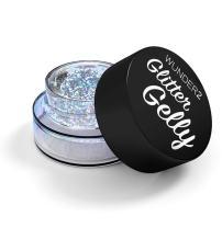 WUNDER2 GLITTER GELLY Long Lasting Glitter Gel - Face, Eye and Body Glitter Makeup, Diamond Color