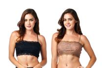 Pure Style Girlfriends Camiflage Bralette (Pack of Two)