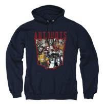 Transformers Autobot Collage Pullover Hoodie & Stickers