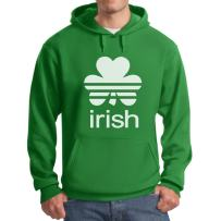 Irish Shamrock St. Patrick's Day Clover Men's Hoodie