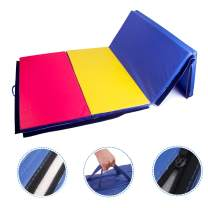 Polar Aurora 4'x8'x2 Multipe Colors Thick Folding Gymnastics Gym Exercise Aerobics Mats Stretching Fitness Yoga 10 Colors