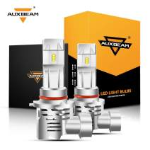 Auxbeam 9005 Led Headlight Bulbs F-M3 Series 50W 5000lm 6500K ZES LED Chip Single Beam Headlight Conversion kit