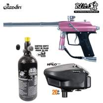 Maddog Azodin Blitz 4 HPA Paintball Gun Package