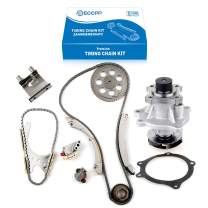 ECCPP Timing Chain Water Pump Kit fits for 2004-2007 Buick Rainier chevy Colorado Trailblazer 4.2L 2.8L 3.5L 2.9L 3.7L TK6020WP AW7156