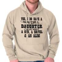 Brisco Brands Beautiful Daughter Protective Father Alibi Hoodie