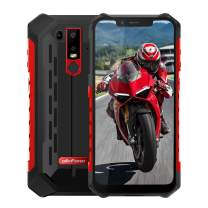 Rugged Cell Phones Unlocked,Ulefone Armor 6s 4G Rugged IP68 Waterproof Outdoor Smartphones,Octa Core 6GB+128GB 6.2 inches FHD+ Screen Android 9.0 5000mAh Battery Dual Sim Rugged Mobile Phone,Red