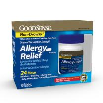 GoodSense Allergy Relief Loratadine Tablets 10 mg, 30 Count