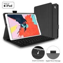 "Mangotek iPad Pro Keyboard Case, 9.7 inch iPad Pro Wireless Smart Connector Keyboard. Slim Combo Lightweight Folio PU Leather Cover for iPad Pro 9.7"""