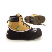 STLFLX FloorGuardz Premium Reusable Shoe & Boot Covers | Thick Waterproof Neoprene Protective Foot Booties, Non-Slip