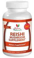 Reishi Mushroom Supplement - 120 Veg. Capsules with Ganoderma Lucidum Mushrooms