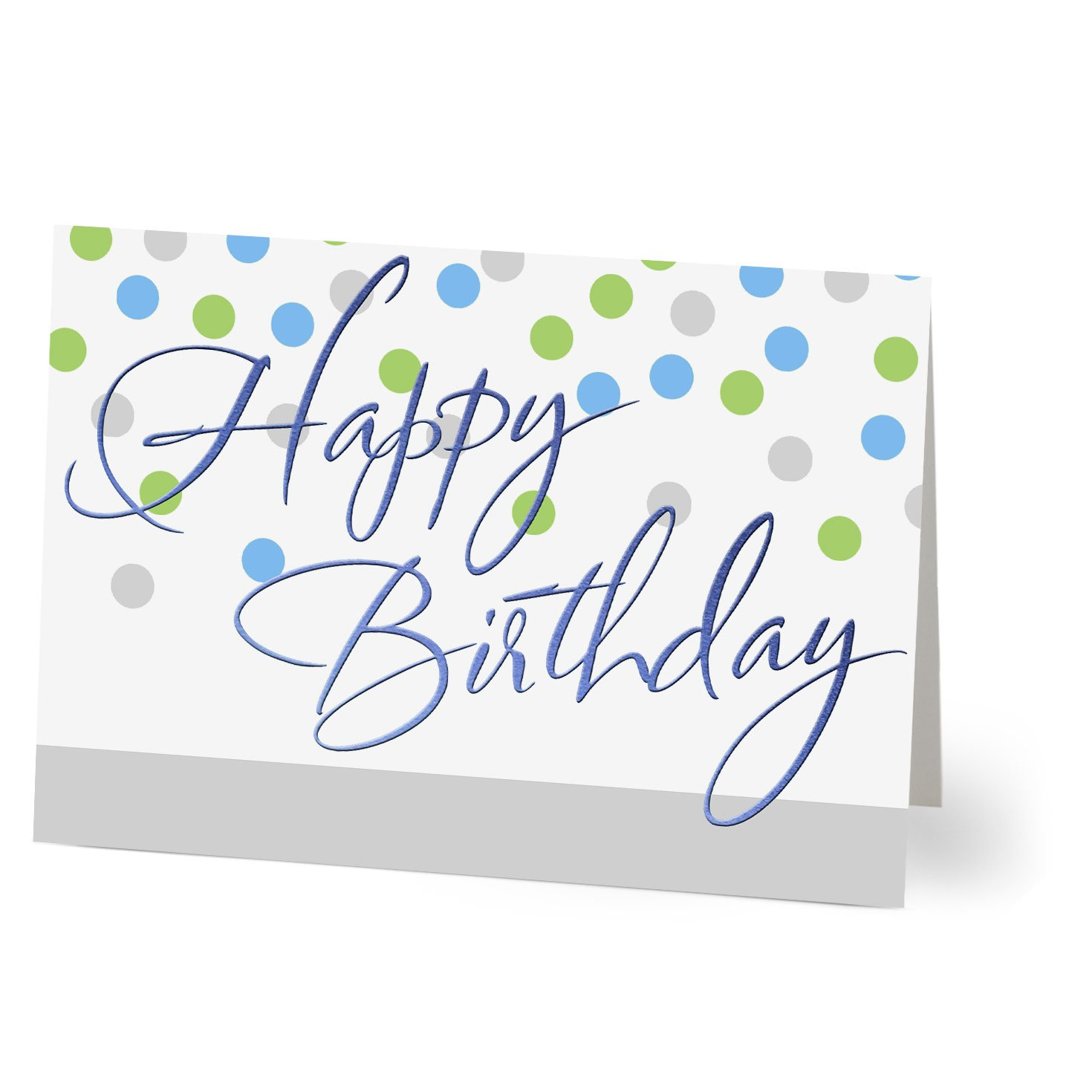 Hallmark Business Birthday Card for Employees (Birthday Dots) (Pack of 25 Greeting Cards)