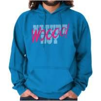 Brisco Brands Woo! Wrestling Fan Boy Smackdown Wrestler Hoodie
