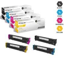 CS Compatible Toner Cartridge Replacement for HP CM2320 CC530A Black CC531A Cyan CC533A Magenta CC532A Yellow HP 304A Color Laserjet CM2320N CM2320NF CM2320FXICP2025DN CP2025X CM2320MFP 4 Color Set