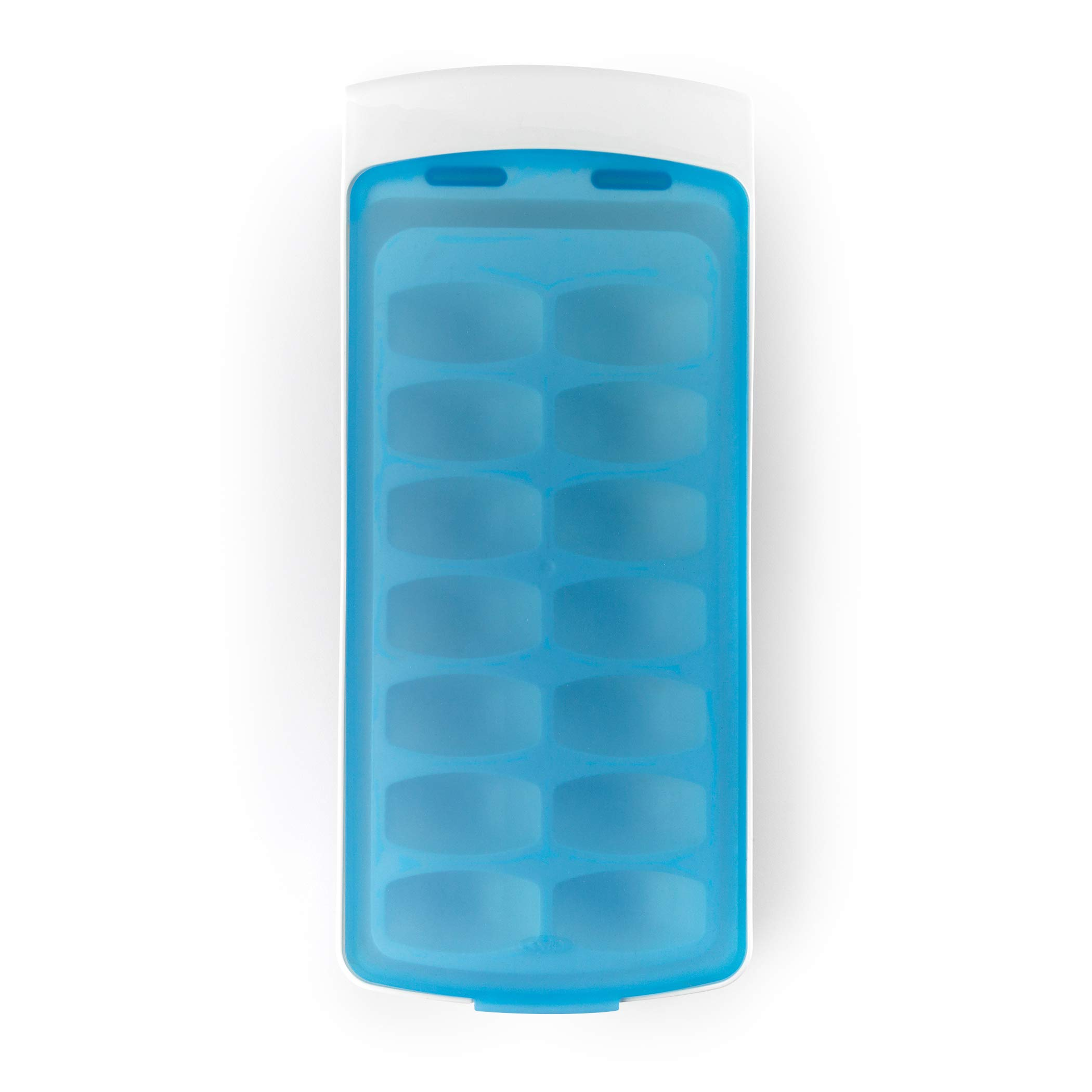 OXO Good Grips No-Spill Ice Cube Tray with Silicone Lid