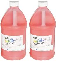 Sax True Flow Heavy Body Acrylic Paint, 1/2 Gallon, Fire Red (Вundlе оf Тwо)