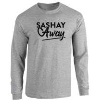 Pop Threads Sashay Away Funny Quote Drag Queen Full Long Sleeve Tee T-Shirt