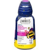 Zarbee's Naturals Children's Sinus & Respiratory Support Liquid with Geranium & Bioflavonoids, Night, 7 Ounce