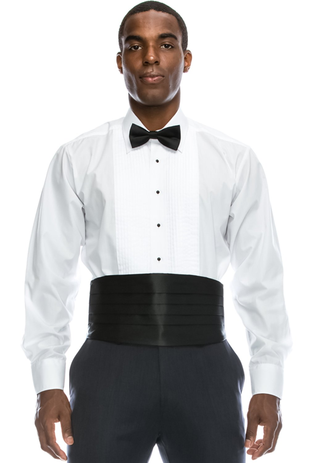 JC DISTRO Mens Formal Tuxedo Shirts Collection w/Big Size Regular Fit