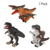 MOLICUI Wind Up Dinosaur Toys for Toddlers-3 Pack