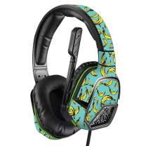MightySkins Skin Compatible with PDP Xbox One Afterglow LVL 3 Headset - Bananas   Protective, Durable, and Unique Vinyl Decal wrap Cover   Easy to Apply, Remove, and Change Styles   Made in The USA