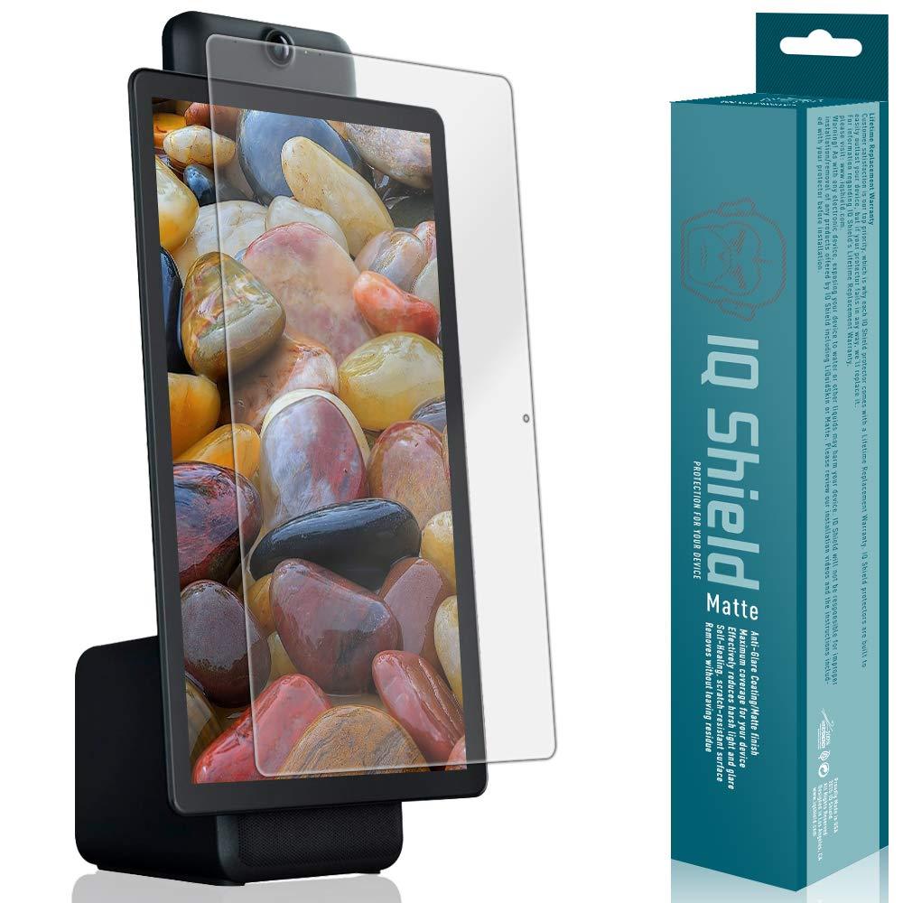 IQ Shield Matte Screen Protector Compatible with Facebook Portal Plus (15.6 inch)(Portal+) Anti-Glare Anti-Bubble Film