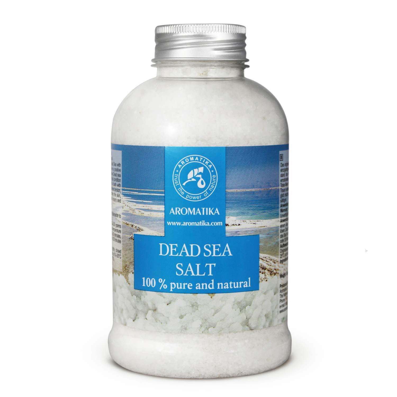 Dead Sea Salt 500 g - 100% Pure and Natural - Dead Sea Salts - Best for Good Sleep - Stress Relief - Bath - Beauty - Relaxing - Bath Salts