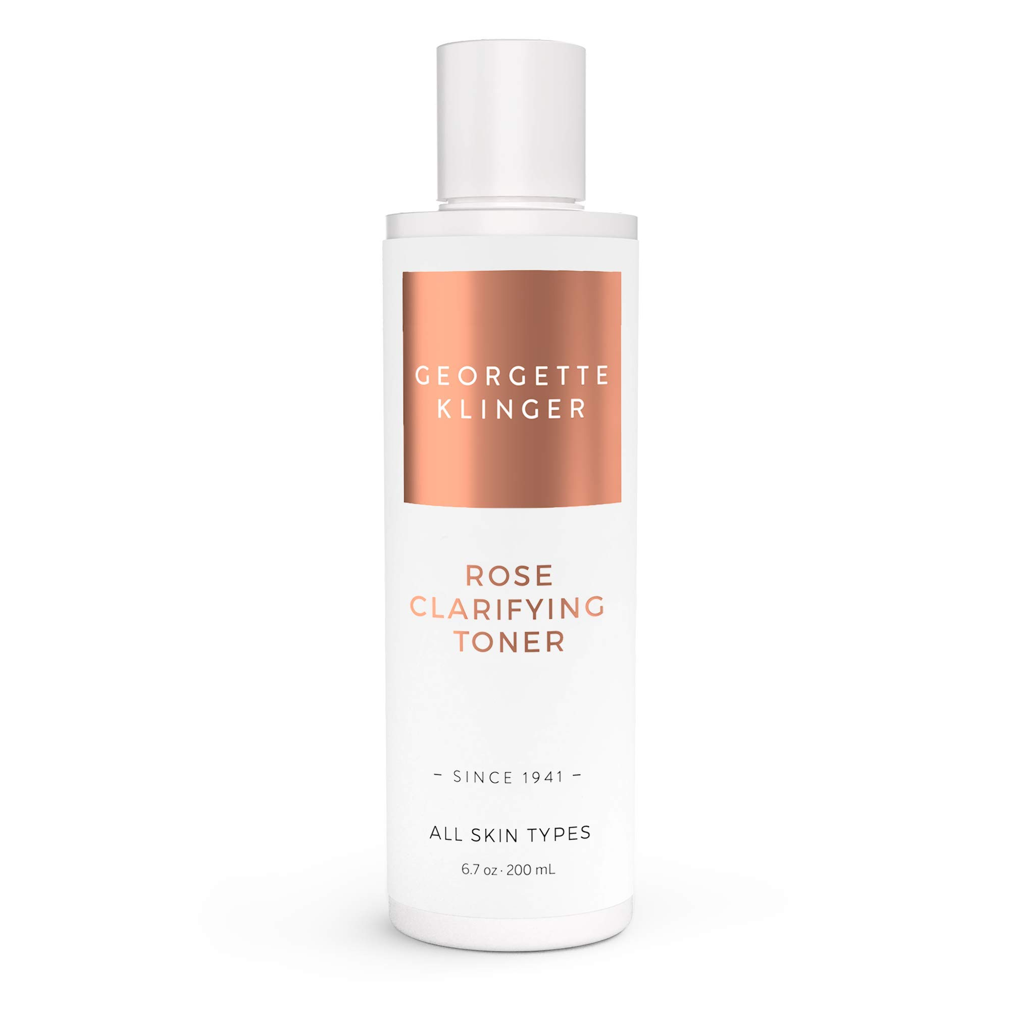 Rose Clarifying Face Toner By Georgette Klinger Skin Care – Alcohol & Fragrance Free Facial Astringent to Deep Clean, Hydrate and Soften Skin for a Clear, Even Complexion
