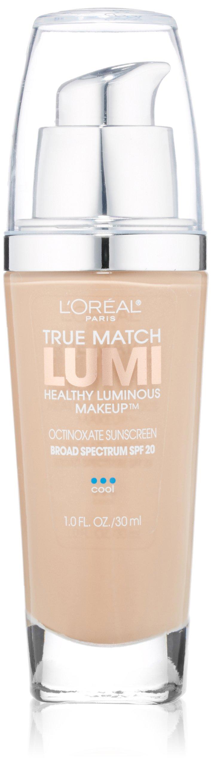 L'Oreal Paris True Match Lumi Healthy Luminous Makeup, C3 Creamy Natural, 1 fl. oz.