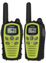 Walkie Talkies for Adults&Kids, HUNICOM Clear Sound Business Walky Talky, Easy to Use Two Way Radio Durable Commercial Wakie Talkies for Outdoor Adventures, Family Activties, Camping, Hiking, Biking