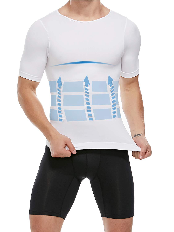 SLIMBELLE Men High Waist Slimming Shorts Brief Seamless Compression Tummy Control Underwear