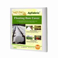 Agfabric Warm Worth Floating Row Cover & Plant Blanket, 0.55oz Fabric of 6x100ft for Bug Barrier & Seed Germination