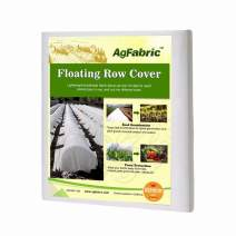 Agfabric Freeze Protection Floating Row Cover Winter Garden Rowing Covers 0.9oz Fabric of 10x10ft Frost Protection Plant Blanket