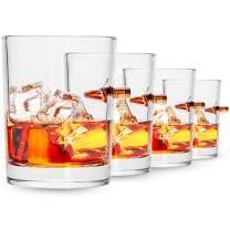 308 CALIBER WHISKEY GLASS | Embedded Bullet 10oz Borosilicate Rock Glass | SET (4) from LUCKY SHOT