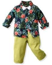 Boy's Floral Outfit Set