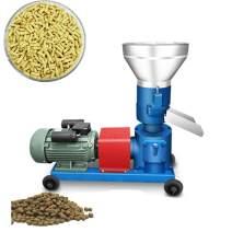 KUNHEWUHUA Pellet Mill Machine Farm Animal Feed Pellet Mill Machine for Chicken/Duck/Fish 80-100kg/h 4KW 220v