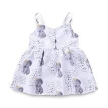 YOUNGER TREE Toddler Baby Girls Summer Skirt Floral Print Sleeveless Sling Dress Sundress Beach Dress