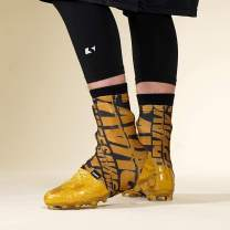 Savage Chroma Black Gold Spats/Cleat Covers