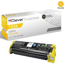 CS Compatible Toner Cartridge Replacement for HP 122A Q3962A Yellow Color Laserjet 2550 2550L 2550LN 2550N 2800 2820 2830 2840 Color 4100 Page Yield