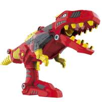 YIER Dinosaur Toys for Boys Girls 3 4 5 7 Years Old Jurassic World Dinosaur Figure Transformer Toys - Take Apart Toys for Toddlers(Tyrannosaurus)