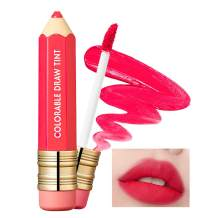 It'S SKIN Colorable Draw Tint 3.3g 10 Colors - Cute Crayon Velvety Lip Tint Lipstick with Matte Finish, Air Light Formula with Long Lasting Intense and Vibrant Color (04 Stolen Pink)